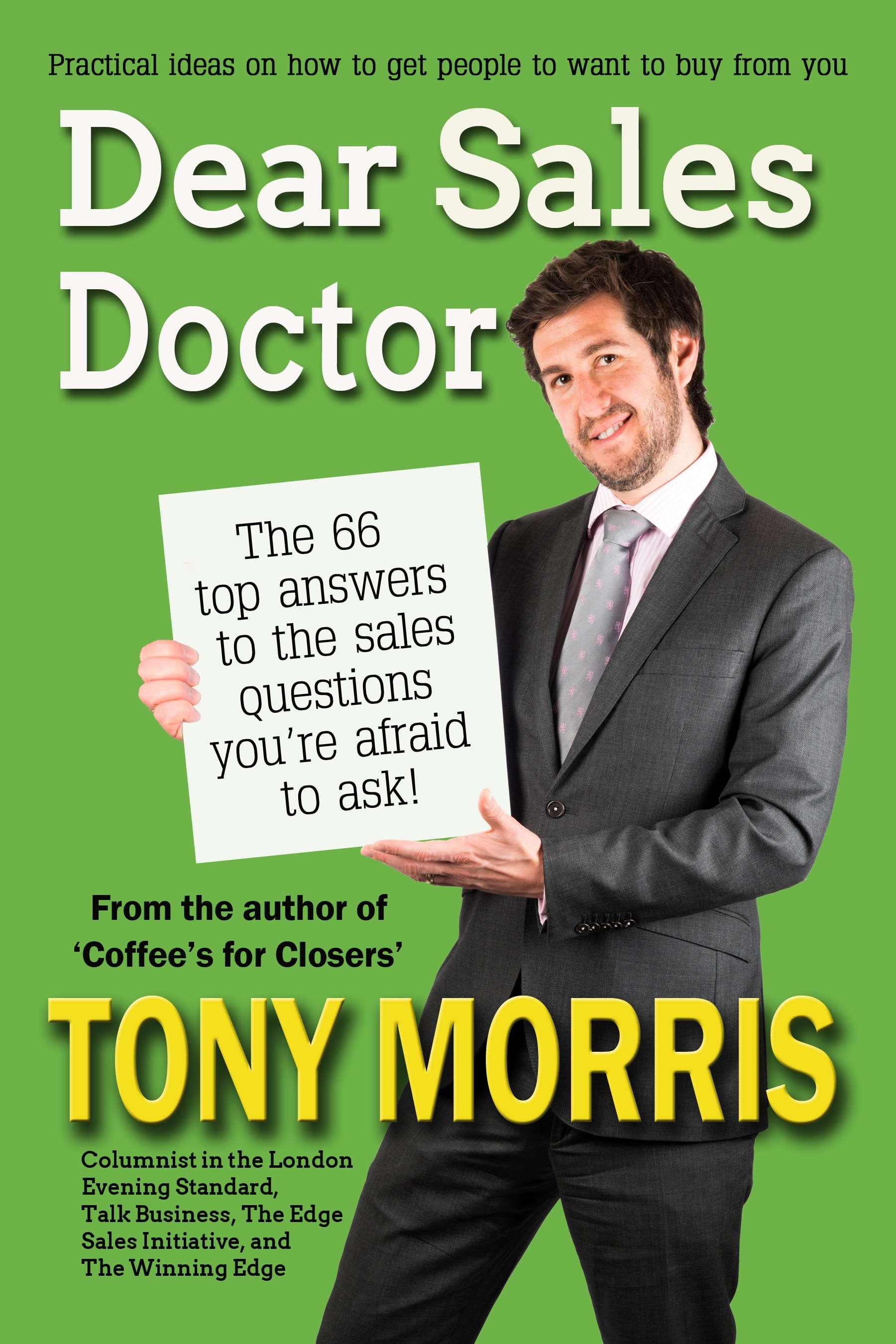 Dear Sales Doctor Book Cover