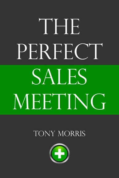 The Perfect Sales Meeting Book Cover